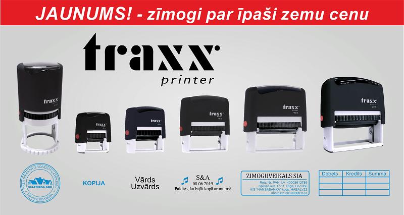 Traxx zīmogi