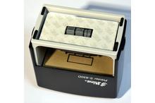 Automātiskais taisnstūra datumzīmogs Shiny S-830D (gatavs lietošanai).