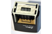 Automātiskais taisnstūra datumzīmogs Shiny S-826D (gatavs lietošanai).
