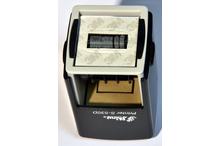 Automātiskais kvadrāta datumzīmogs Shiny S-530D (gatavs lietošanai).
