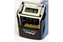 Automātiskais taisnstūra datumzīmogs Shiny S-835D (gatavs lietošanai).