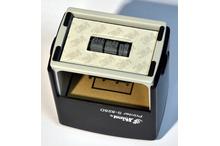Automātiskais taisnstūra datumzīmogs Shiny S-828D (gatavs lietošanai).