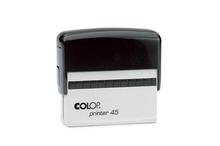 Oriģinālais automātiskais korpuss-turētājs Colop Printer 45 (bez klišejas).