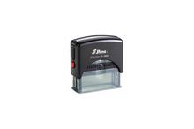Oriģinālais automātiskais korpuss-turētājs Shiny Printer S-308 (bez klišejas).