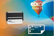 Zīmogs Colop Printer 15, gatavs lietošanai
