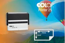 Zīmogs Colop Printer 25, gatavs lietošanai