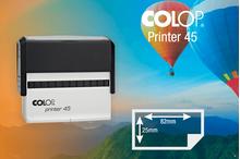 Zīmogs Colop Printer 45, gatavs lietošanai