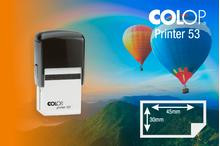 Zīmogs Colop Printer 53, gatavs lietošanai