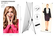 Banner STANDARD | 80 x 180 cm