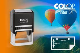 Zīmogs Colop Printer 54, gatavs lietošanai