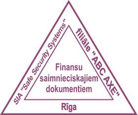 zīmogs Trijstūris